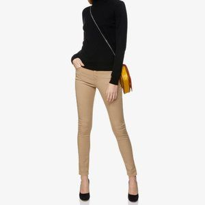 United Colors Of Benetton Jeans - United CofB Beige Mid-Rise Skinny Jeans